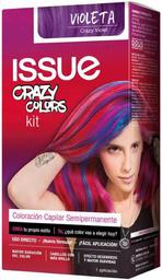 Issue Tinte Kit Crazy Colors Violeta Permanente
