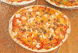 Camarón-Ginger Pizza