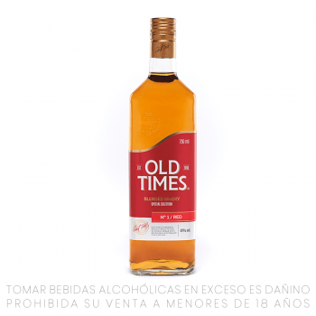 Old Times Whisky Red