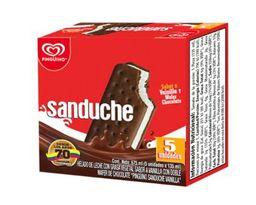 Helado Sanduche 5 Pack Vainilla