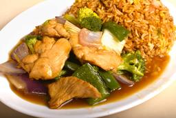 Chaulafán Asia/Pollo con Verduras