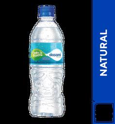 Agua Dasani Natural 600 ml