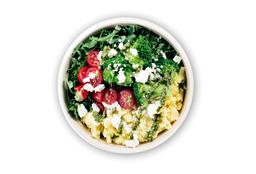 Huevos al Pesto y Kale