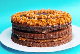 Porcion Torta Mojada de Chocolate