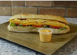 Sándwich Cuarteto de Quesos