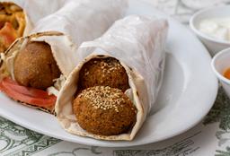 Sándwich Vegetariano Falafel