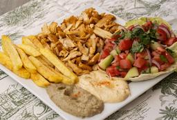 Plato Shawarma de Pollo