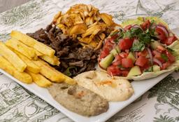 Plato Shawarma Mixto