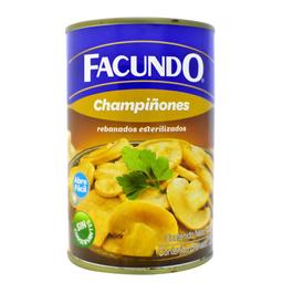 Champinones Rebanados Facundo 400 G