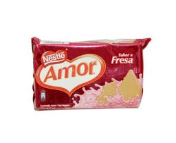 Galleta Wafer Amor Sabor Fresa