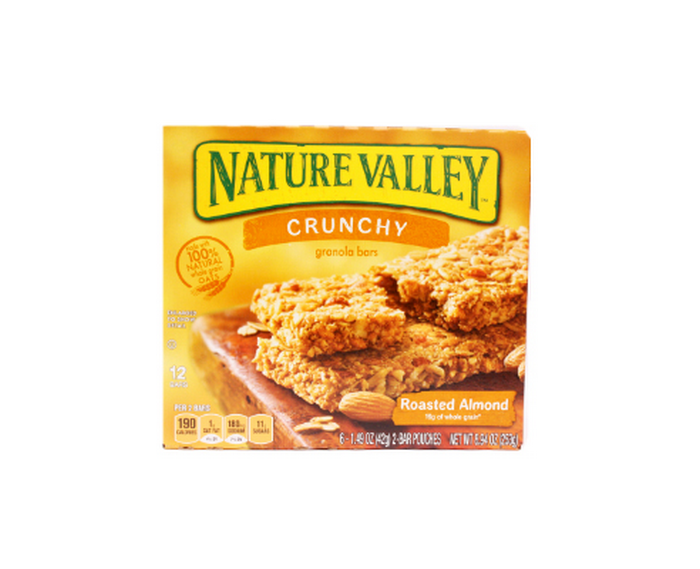 Granola Bars Crunchy Nature Valley Roasted Almond