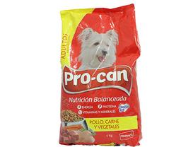 Alimento Para Perro Pro-can Adultos Carne y Vegetales