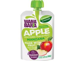 3x2 Wanabana Jugo Puré De Manzana Fresa Doy Pack