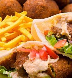 Combo Sándwich Falafel