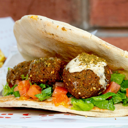 Berliner Falafel Kebab Vegetariano