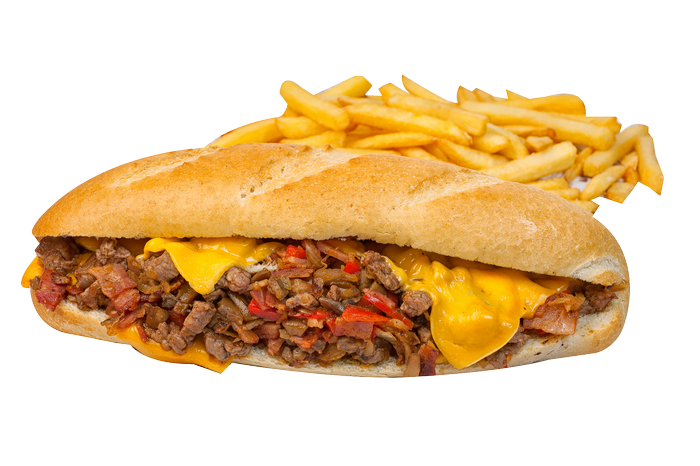 Sándwich Philly Cheese