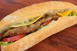Sándwich con Milanesa de Carne
