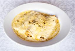 Cannelloni Rellenos de Cangrejo