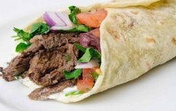 Sándwich Shawarma de Carne