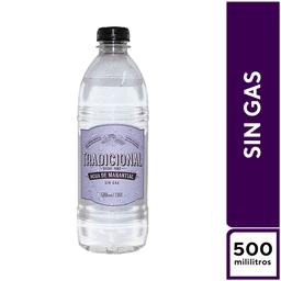 Tradicional Agua de Manantial Sin Gas 500 ml