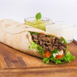 Shawarma de Carne Sin Vegetales