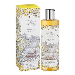 Gel de Baño Woods Of Windsor Honeyed Pear & Amber