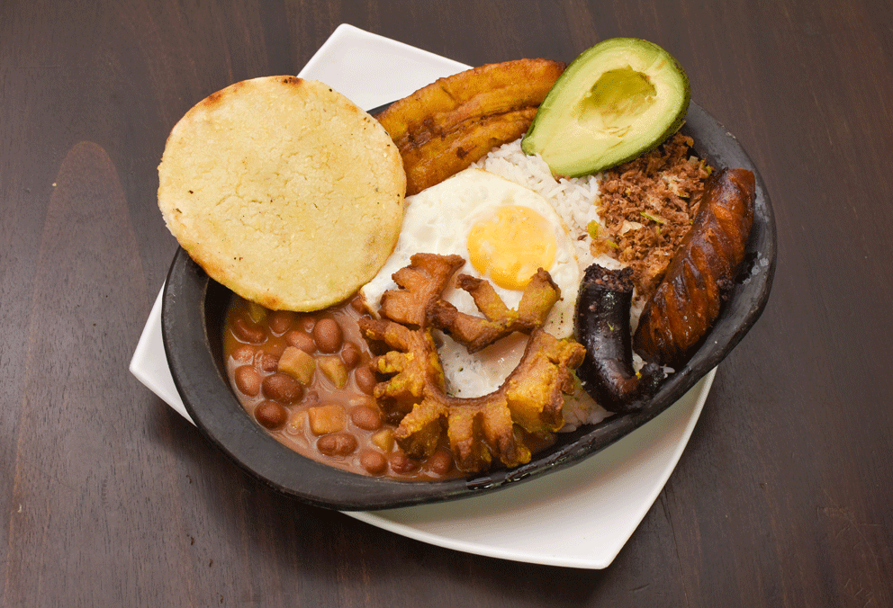 Mini Paisa Media Bandeja Paisa