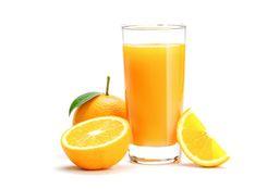 Jugo de Naranja en Vaso