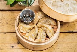 Dumplings de Cerdo y Kimchi