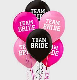 Globos Team Bride (15 U.)