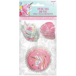 Decoración Cupcakes Unicornio