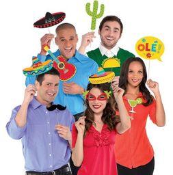 Fiesta Mexicana Props Para Fotos (10 U)