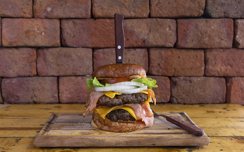 Super Bacon And Cheese Burger