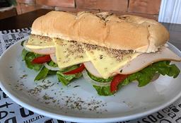 Sándwich Jamón de Pollo Teriyaki