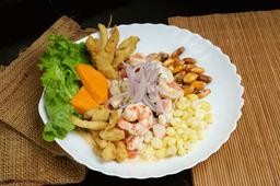 Ceviche Mixto Huacatay