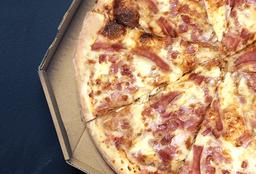 Pizza Tocino y Jamón