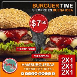 Promo 2X1 Hamburguesa the Beatles