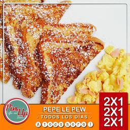 2x1 Desayuno Pepe le Pew