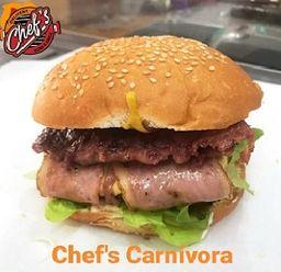 Chef's hamburguesa Carnívora