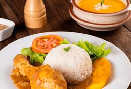 Almuerzo Seco de Pollo