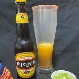 """Michelada """"la mexicana"""""""