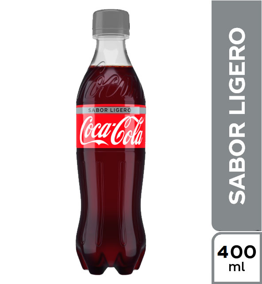 Coca Cola Sabor Ligero 400 ml