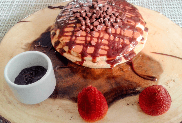 Pancakes de Chocolate