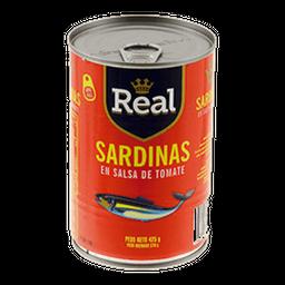 Real Sardina En Salsa De Tomate Con Abre Facil
