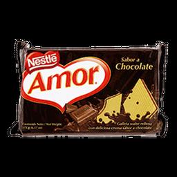 Galleta Wafer Amor Sabor Chocolate