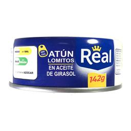 Real Atun Lomitos En Aceite De Girasol