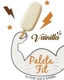 Paleta Fitt de Vainilla