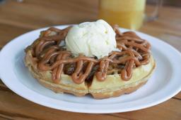 Waffle Manzana