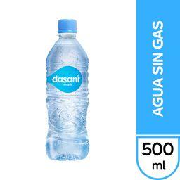 Agua Dasani sin Gas 500 ml