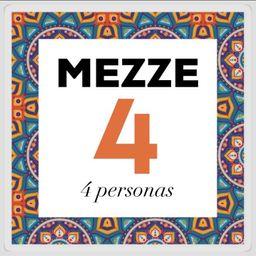 Mezze 4 Combinación para 4 Personas